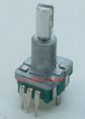 Alps Ec11 Rotary Encoder 30 Pulses 20mm Shaft Pc Mount With Push On Switch