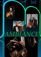AMBIANCE - REAL MUSIC IS LIVE - BACKGROUND MUSIC FOR ANY EVENT