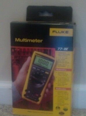 Multimeter Fluke 77-iv New In Box