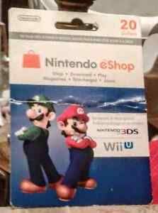 Unused Nintendo WiiU games and gift card Stratford Kitchener Area image 4