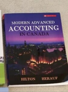 Modern Advanced Accounting in Canada, 8th Canadian edition