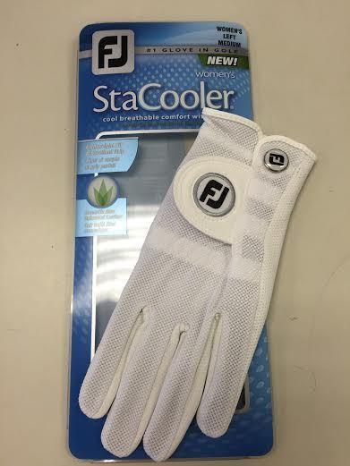 FootJoy StaCooler Original Style Golf Gloves for Women Left/Right Hand White NEW