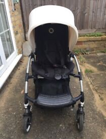 Bugaboo Bee 3 Stroller (complete set with bassinet, foot muff & rain cover)