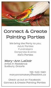 Social Painting Parties