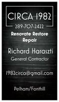 OLD SCHOOL KNOWLEDGE AND EXPERIENCE GENERAL CONTRACTOR