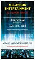 MELANSON ENTERTAINMENT - DJ & KARAOKE SERVICES