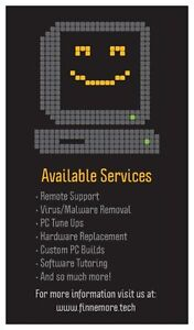 Computer repair - Finnemore Tech - Affordable and reliable!