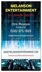 MELANSON ENTERTAINMENT SERVICES (DJ)