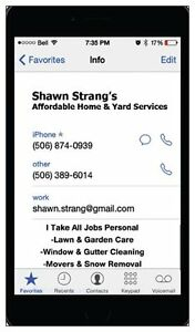 Shawn's Afordable Home And Yard Services
