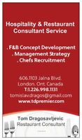 restaurant food business consulting