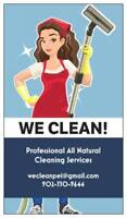 We Clean! If You Could Use Some Help, Contact Us Today