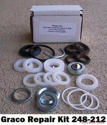 Aftermarket Pump Repair Kit For Graco Airless Paint Sprayer 248212 248-212