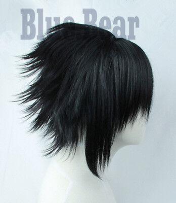 Naruto Uchiha Sasuke Cosplay Kostüme Perücke wig perruque Schwarz Black Anime