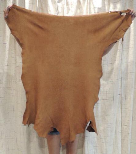 ACORN DEERSKIN Leather Hide for Regalia Native Crafts Pipe Bags Fringe Buckskins