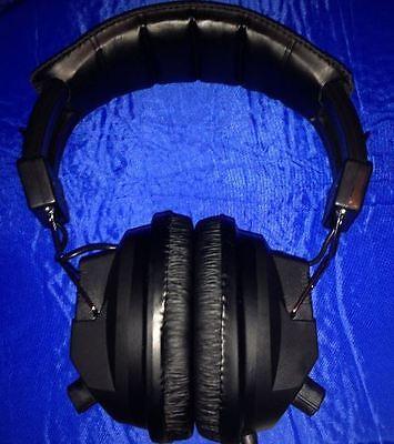 DELUXE METAL DETECTOR HEADPHONES  VOLUME CONTROL - WHITES TEKNETICS AUDIO MUSIC