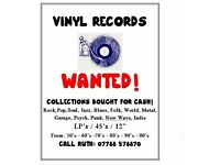 VINYL RECORDS WANTED!!!!