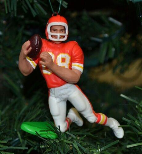 "Tony Gonzalez Kansas City Chiefs #88 Football Christmas Ornament Red Jersey 3"""