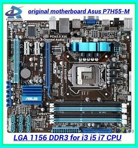 LGA 1156 Motherboard for Gen1 i3 i5 CPU's