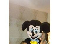 muckey mouse mascots good condition