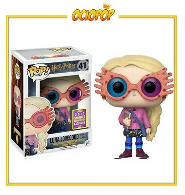 Funko POP! Harry Potter: Luna Lovegood con gafas Exclusiva