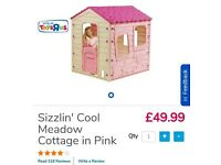Kids Playhouse. ToysRus Sizzlin' Cool Meadow Cottage in pink.