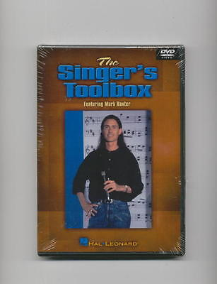 SINGER'S TOOLBOX VOCAL SINGING LESSON DVD *NEW*