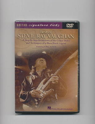 BEST OF STEVIE RAY VAUGHAN BLUES GUITAR LESSON DVD