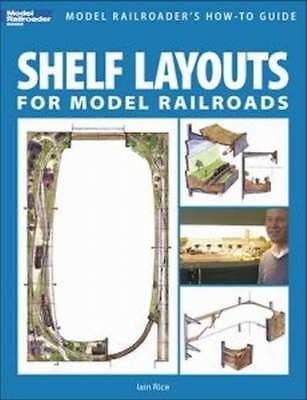 KALMBACH BOOK  SHELF LAYOUTS FOR MODEL RAILROADS for sale  Shipping to India