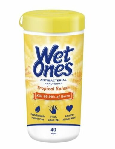 Wet Ones Wipes Tropical Splash Hand Wipes 40 Count ship24hours
