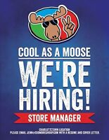 Retail Store Manager Cool As A Moose Charlottetown