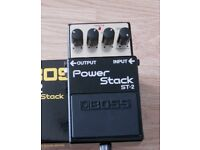 Boss Power Stack Distortion Pedal