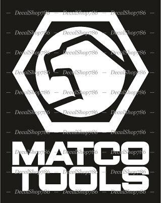 MATCO Tools - Cars/SUV/Truck/Toolbox Vinyl Die-Cut Peel N' Stick (Suv Tool Boxes)