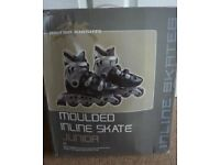 BRAND NEW AND BOXED British Knights Moulded Inline Skates - Junior, Size 5