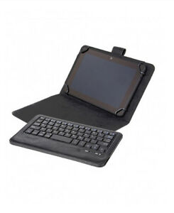 """Universal Bluetooth Keyboard + Case for 7 & 8"""" Tablets"""