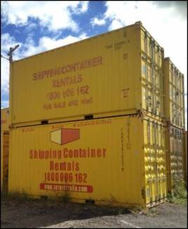 SHIPPING CONTAINERS 20ft FOR HIRE inc gst