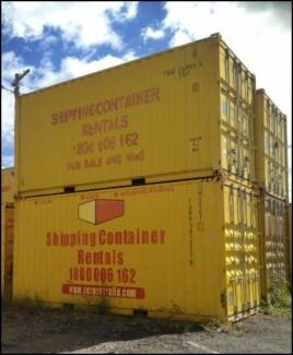 SHIPPING CONTAINERS FOR HIRE 20ft inc GST