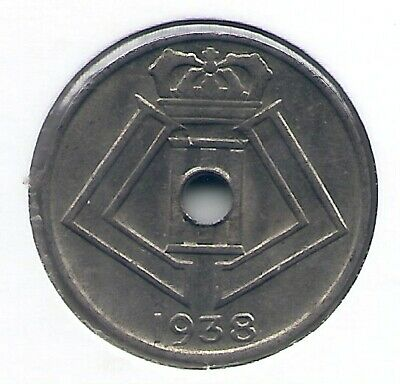 5 cent 1938 frans/vlaams * LEOPOLD III * nr 5239