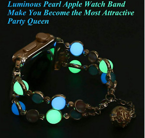 Brand New Night Luminous Watchband for Apple Watch Band Replacem