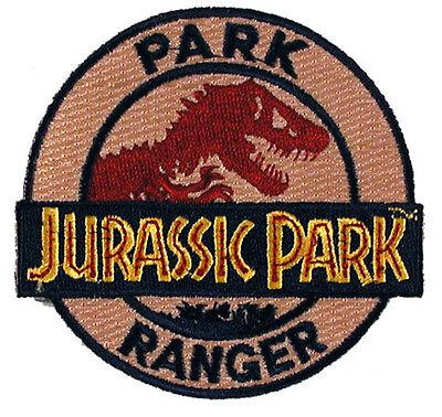 Jurassic Park - Park Ranger Uniform Patch - Kostüm Aufnäher neu zum aufbügeln ()