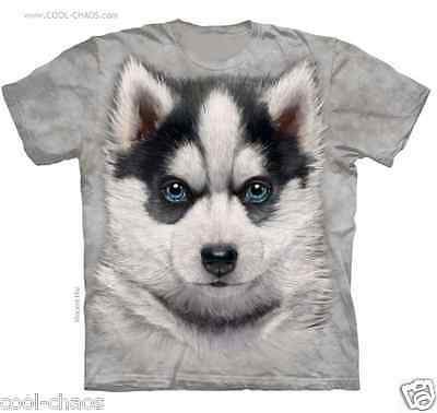 Buy and sell Sweet Puppy Siberian Husky T-Shirt/Graffiti,Dogs,Pup,Tie dye tee! Husky Dog Tee products