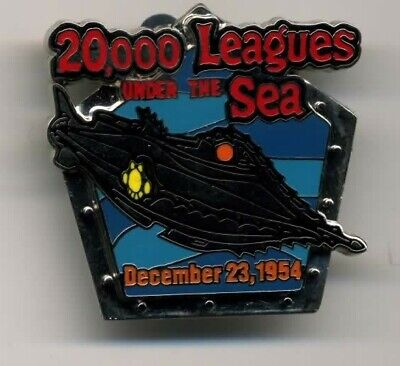 DISNEY 20,000 LEAGUES UNDER THE SEA COUNTDOWN TO THE MILLENNIUM PIN