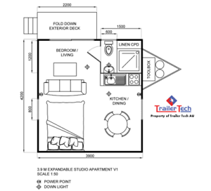 3.9Meter EXPAND - Small Apartment on Wheels Smeaton Grange Camden Area Preview