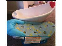 Bath tub set