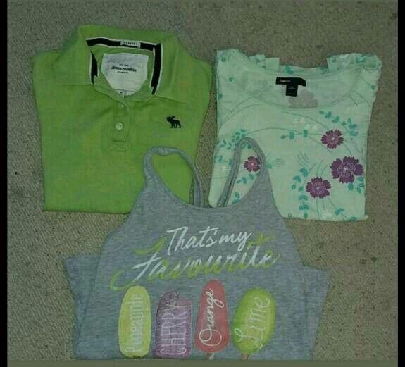 Girls t-shirt bundle 8-9 yrs