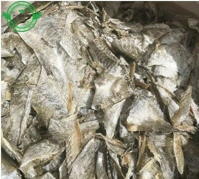 1Kg Dried Pollack Skin Food Fish Snack Cooking Camping Beer Side dish