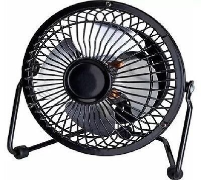 Principal 4 Inch Personal Fan Rotates 360 Compact Tilt Cool Air Conditioner 4