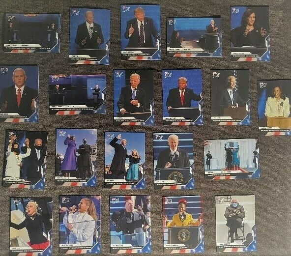 Topps Now 2020 Election 21 CARD SET - BARGAIN PRICE!!!