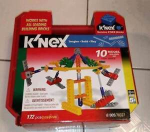 NEW! K'NEX FUN RIDES BUILDING SET 61005 70327 172 PIECES