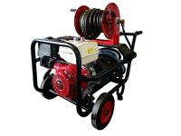 Comet 390HTR 3000PSI / 21 LPM Industrial Powerwasher GX390 Honda engine with 30m hose & reel Armagh