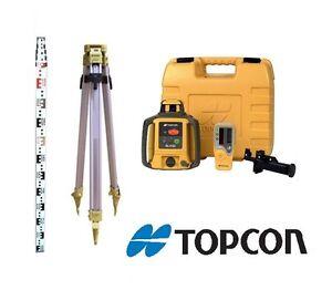 TOPCON LASER LEVEL - WITH MAGNETIC EXCAVATOR/BOBCAT MOUNT